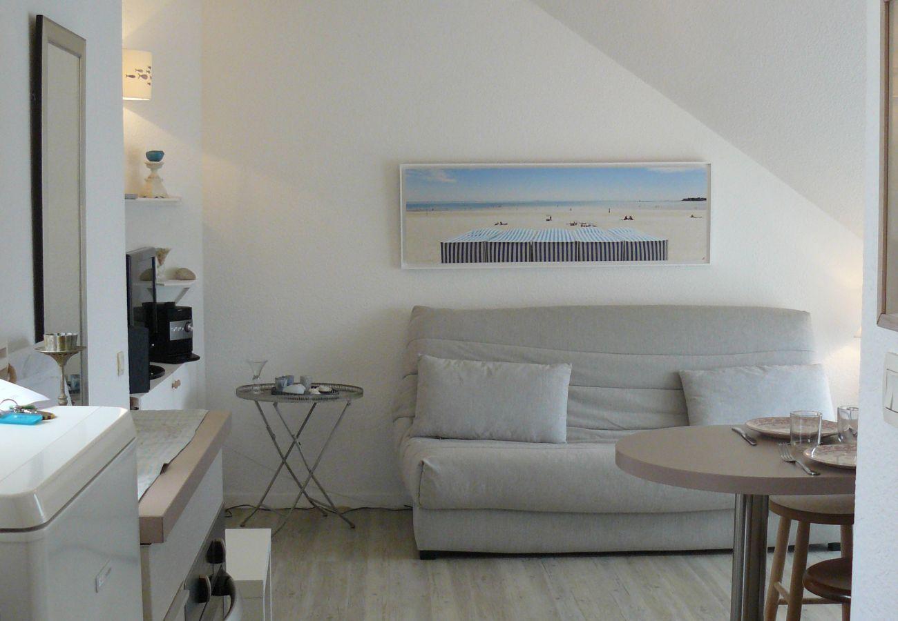 Studio in Carnac - Joli Studio Confortable Idéalement Situé, Belle Vue sur Les Salines-U69