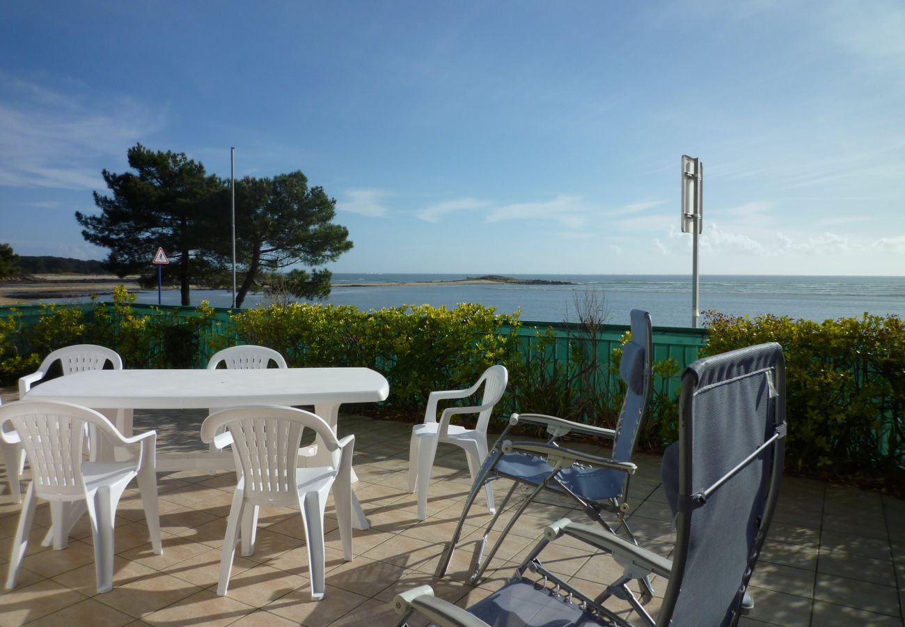 Apartment in Carnac - Bel Appartement Spacieux Vue Mer, Wifi - T315