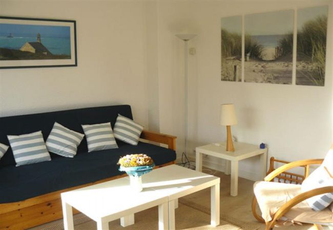 Appartement à Carnac - Appartement Agréable et Rénové Balcon Exposé Sud, Plage Beaumer à 300m-D2