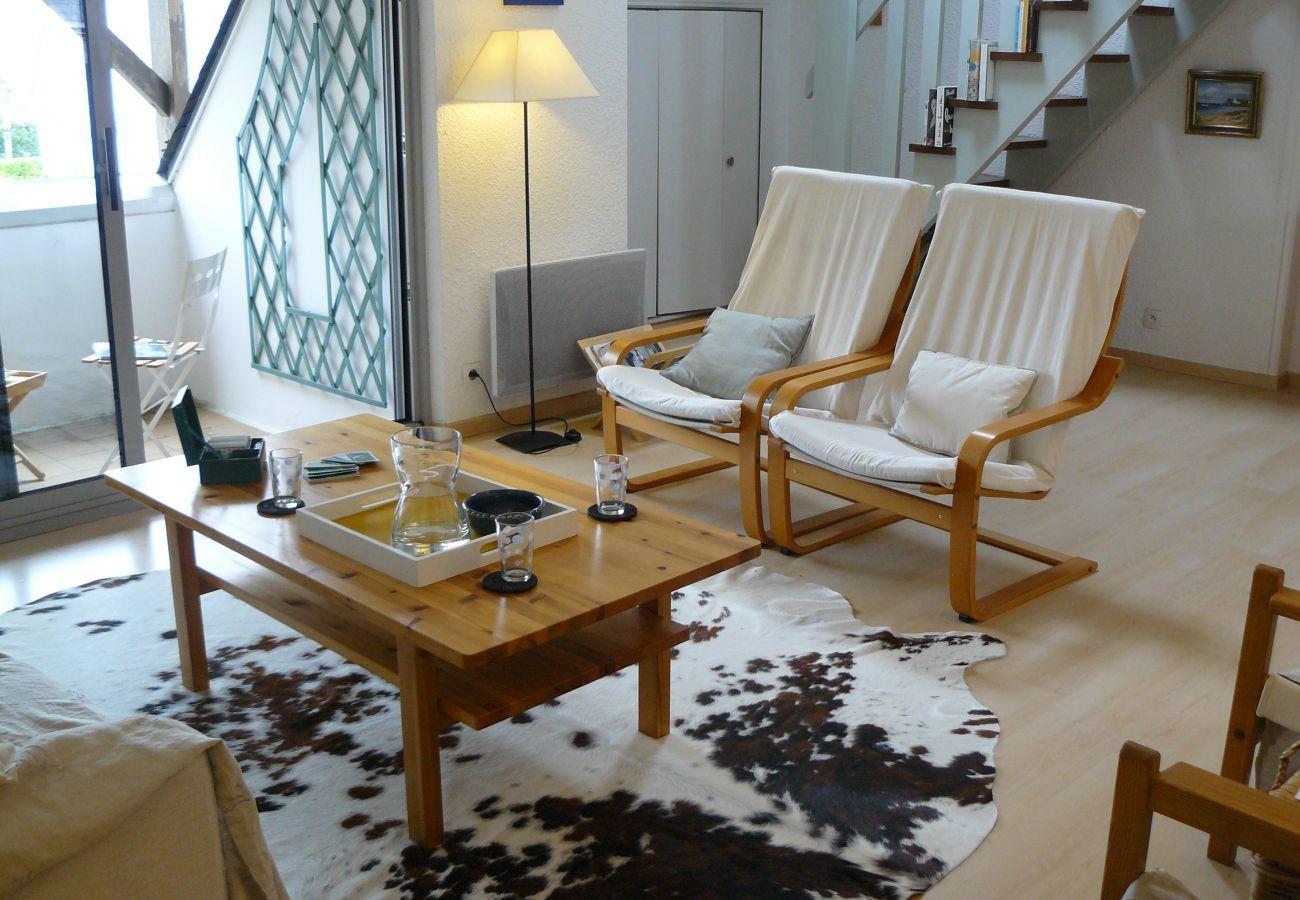 Appartement à Carnac - Les Alizés, bel appartement duplex avec balcon et Wifi - TK2