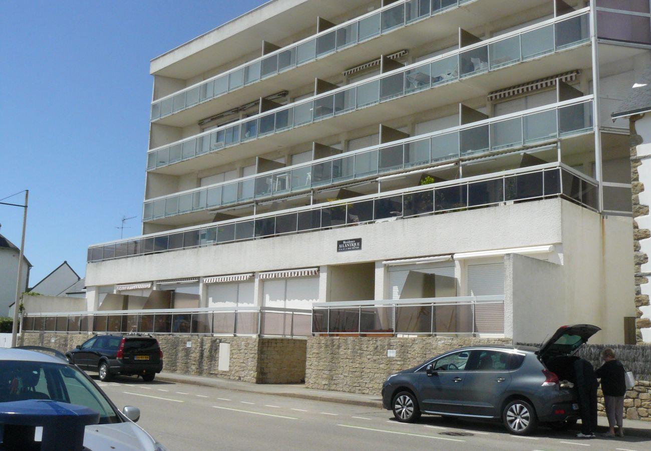 Appartement à Carnac - Atlantique, Appartement 2* avec belle vue mer - DAT27