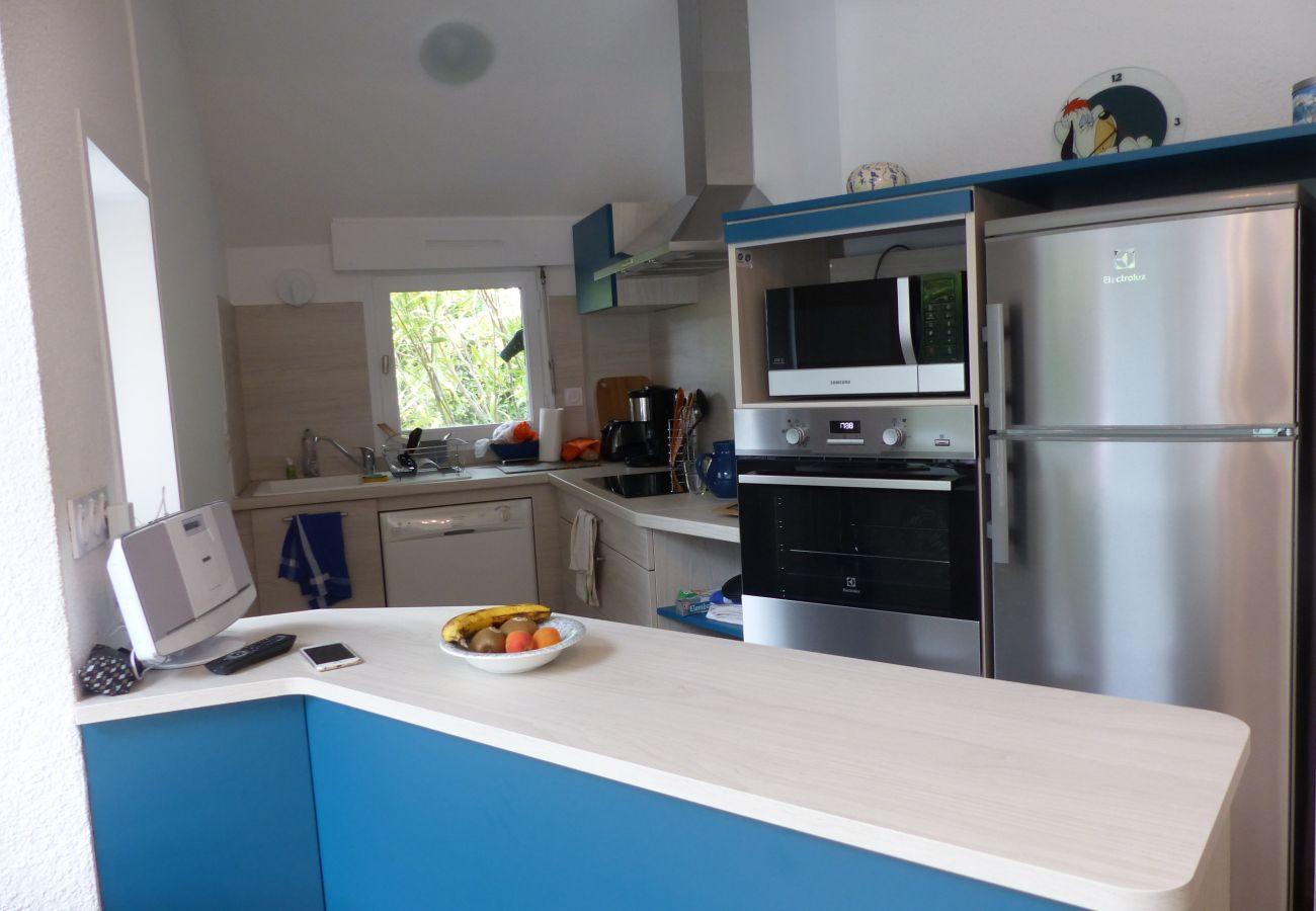 Appartement à Carnac - Appartement Agréable Classé 3* avec Jardin, Plage à 200m-K295