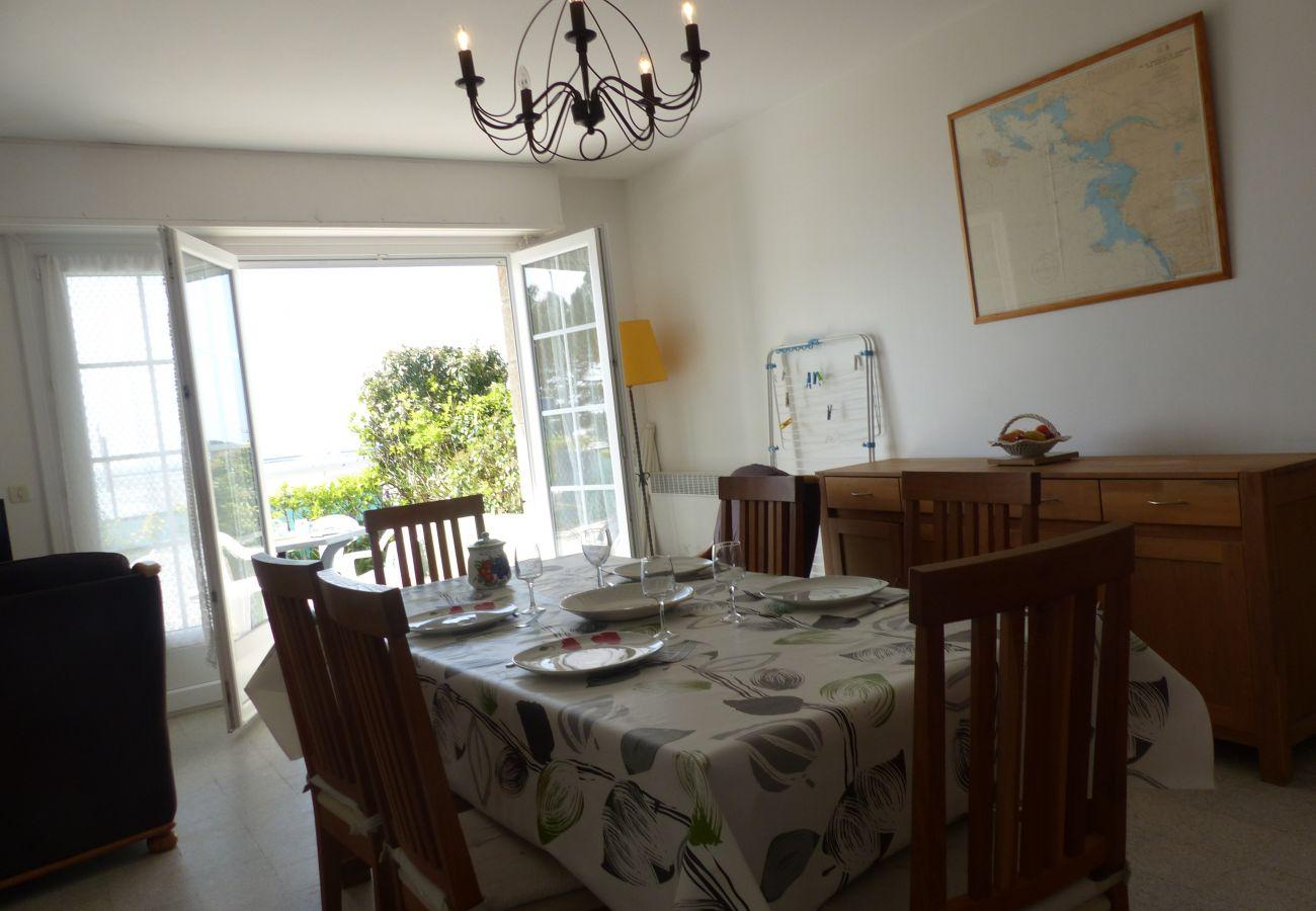 Appartement à La Trinité-sur-Mer - Bel Appartement Spacieux Vue Mer, Wifi - T315